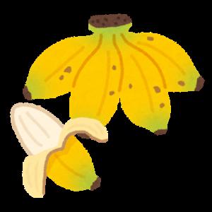 病み上がりにおすすめの食べ物 バナナ