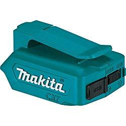 マキタの充電池で使えるUSBアダプタが便利!【マキタのUSB電源アダプタ】